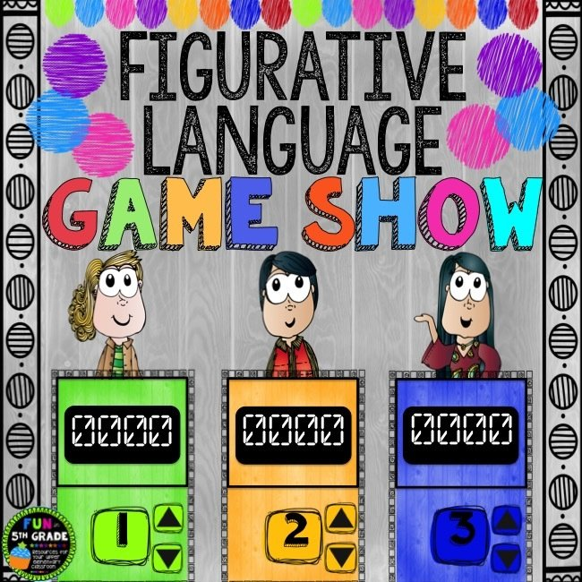 Figurative Language Game Show (PowerPoint Game) 00029