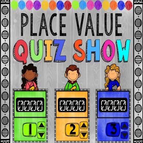 Place Value Game Show for 5th Grade (PowerPoint Game) 00036