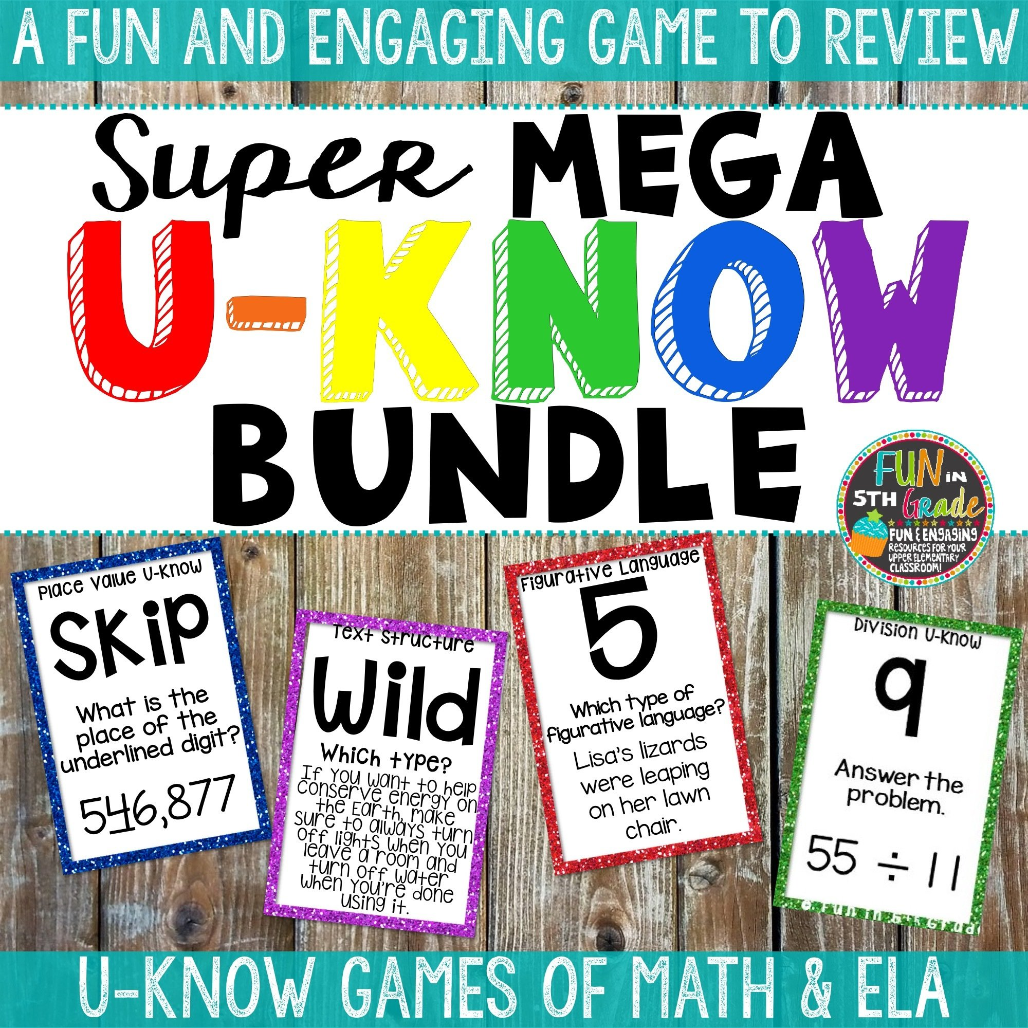 Math & ELA U-Know Super Mega Bundle 00046