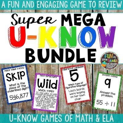 Math & ELA U-Know Super Mega Bundle