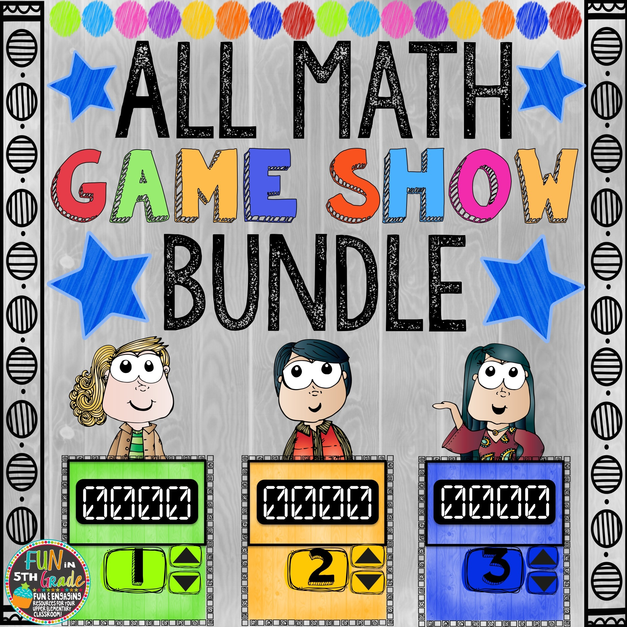 ALL Math Game Shows (PowerPoint Games) 00044