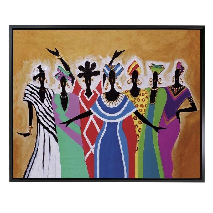 7-SISTERS FRAMED CANVAS ART