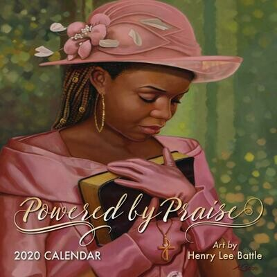 POWERED BY PRAISE 2020 AFRICAN AMERICAN WALL CALENDAR