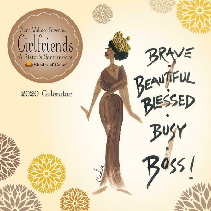 GIRLFRIENDS, A SISTER'S SENTIMENTS 2020 WALL CALENDAR