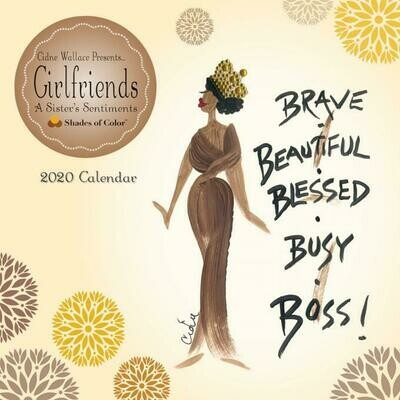 GIRLFRIENDS, A SISTER'S SENTIMENTS 2020 WALL CALENDAR