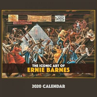 THE ICONIC ART OF ERNIE BARNES 2020 WALL CALENDAR