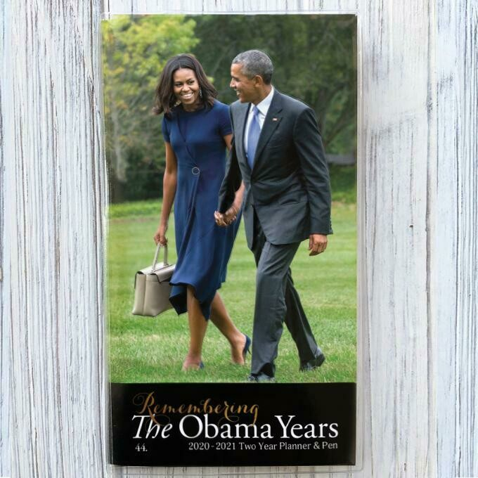 THE OBAMAS 2020 – 2021 TWO YEAR PLANNER