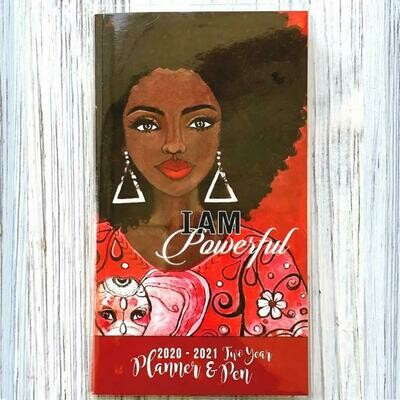 I AM POWERFUL 2020 – 2021 TWO YEAR PLANNER