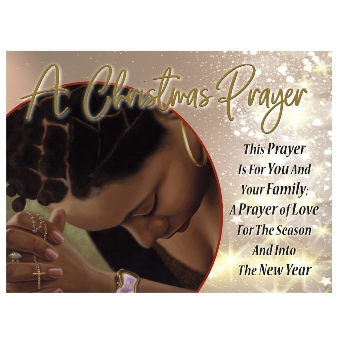 A CHRISTMAS PRAYER