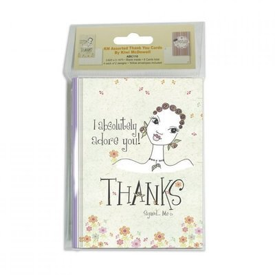 KW ASSORTED THANK YOU CARDS