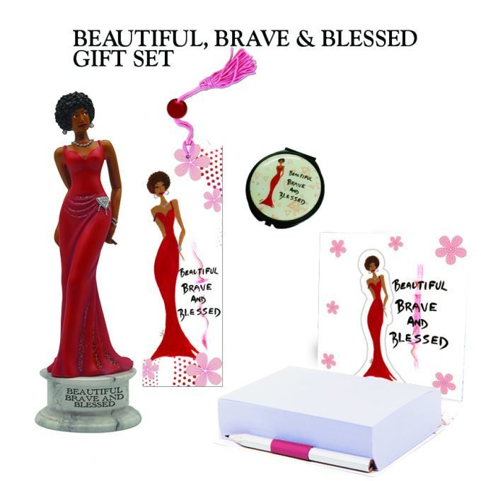 BEAUTIFUL, BRAVE AND BLESSED GIFT SET
