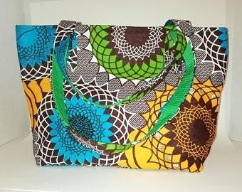 NSSA AFRICAN PRINT TOTE BAG