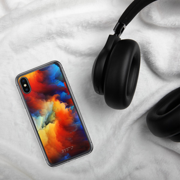 Painted Color Splashes, SBBTO iPhone Case 00077