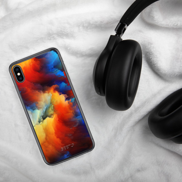 Painted Color Splashes, SBBTO iPhone Case