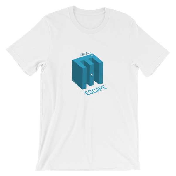 Enter Escape, E-Maze, SBBTO Short-Sleeve Unisex T-Shirt 00034