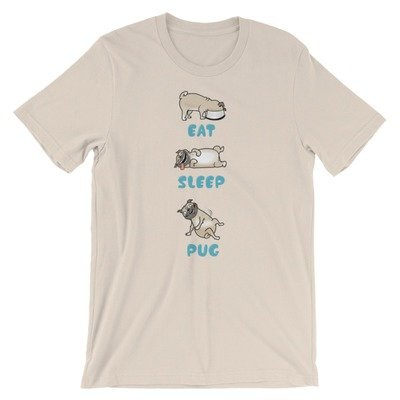 Eat, Sleep, Pug, SBBTO Unisex T-Shirt