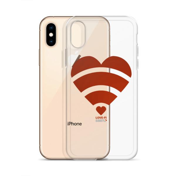 Love-Fi, Heart, SBBTO iPhone Case