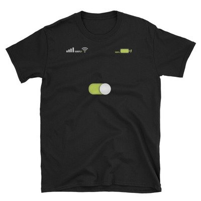 Turn-On, iPhone Slider, SBBTO Short-Sleeve Unisex T-Shirt
