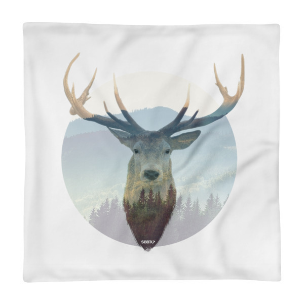Deer and Mountains, SBBTO Pillow Case
