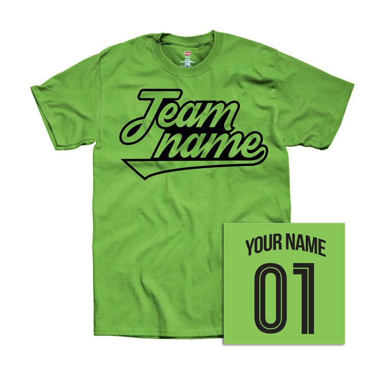 Custom Team's T-shirt
