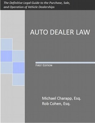 Auto Dealer Law, First Edition