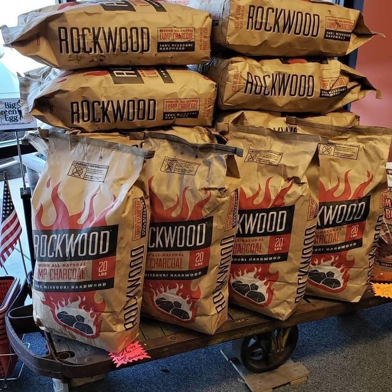 Rockwood  Lump Charcoal 20lb Bag