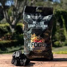FOGO!, Premium Lump Charcoal 17.6 Lbs Bag /BLACK BAG