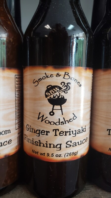SBW, Ginger Teriyaki Finishing Sauce 12oz
