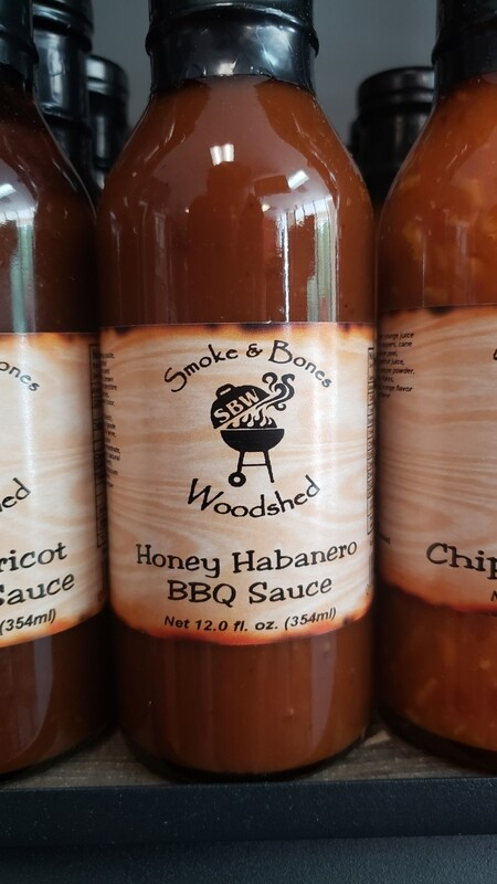 SBW, Honey Habanero BBQ Sauce 12oz