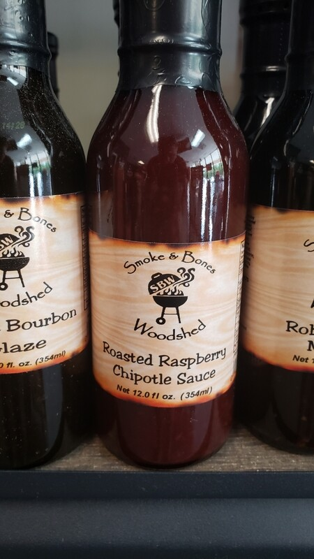 SBW, Roasted Raspberry Chipotle Sauce 12oz