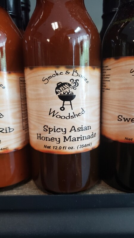 SBW, Spicy Asian Honey Marinade 12oz