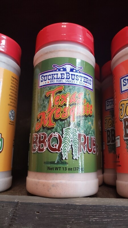 Suckle Busters Texas Mesquite BBQ rub