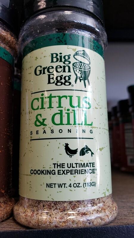 Citrus & Dill BGE