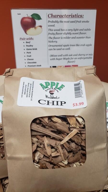 Wood, Apple Chip 1lb