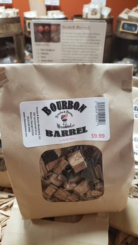 Wood, Bourbon Barrel Chip 1lb
