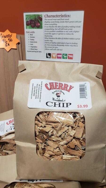 Wood, Cherry Chip 1lb