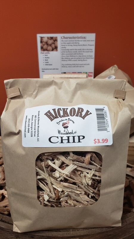 Wood, Hickory Chip 1lb