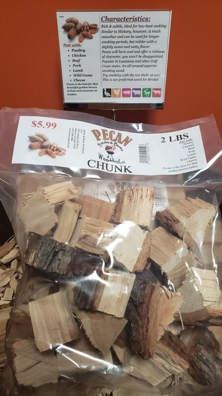Wood, Pecan Chunk 2lb
