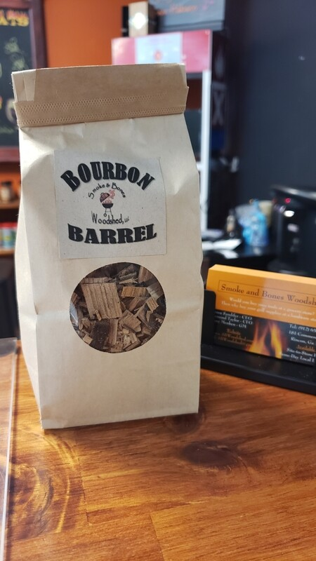 Bourbon Barrel Chips Mini 8oz