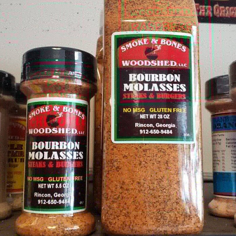 Bourbon Molasses Rub 28oz