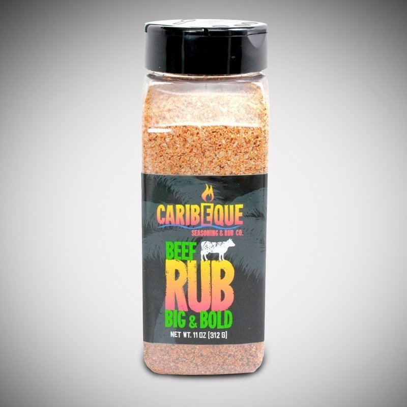 Caribeque, Big & Bold Beef Rub 11oz