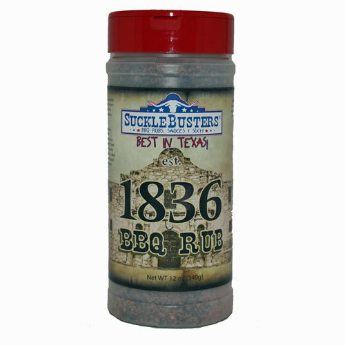 Suckle Busters, 1836 BBQ Rub