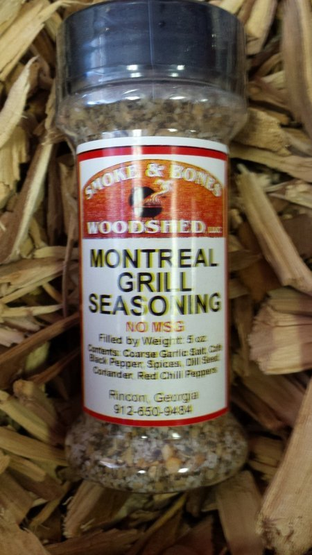 SBW, Montreal Grill Seasoning 5oz