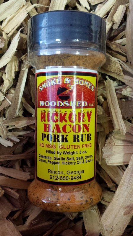 SBW, Hickory Bacon Rub 5oz
