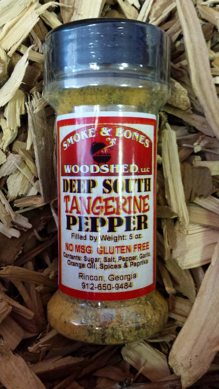 SBW, Deep South Tangerine Pepper Seasoning 5oz