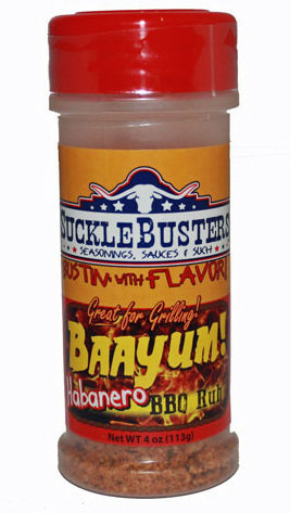 Suckle Busters, Baayum Habanero Rub 4oz