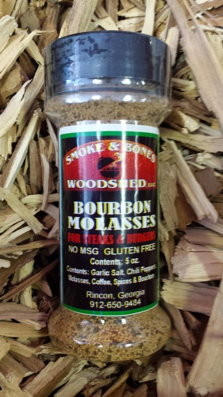 SBW, Bourbon Molasses Rub 5oz