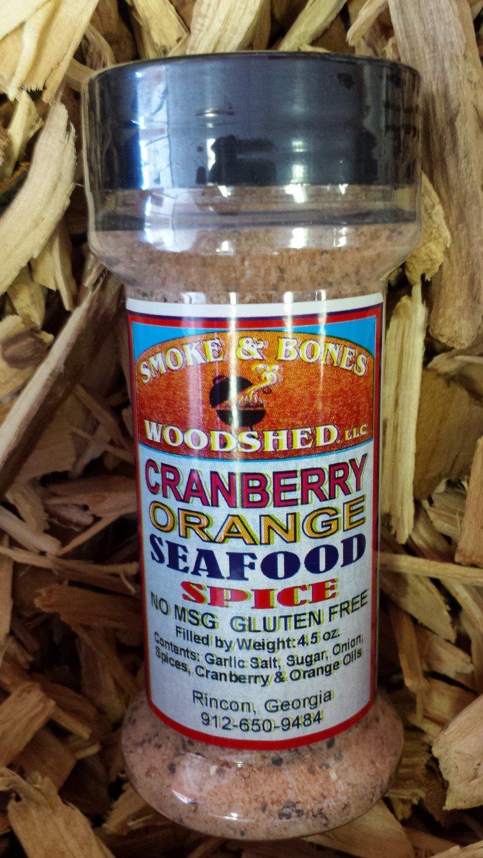 SBW, Cranberry Orange Seafood Spice 4.5oz