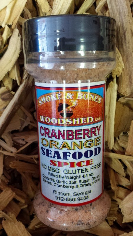 SBW, Cranberry Orange Seafood Spice 4.5oz