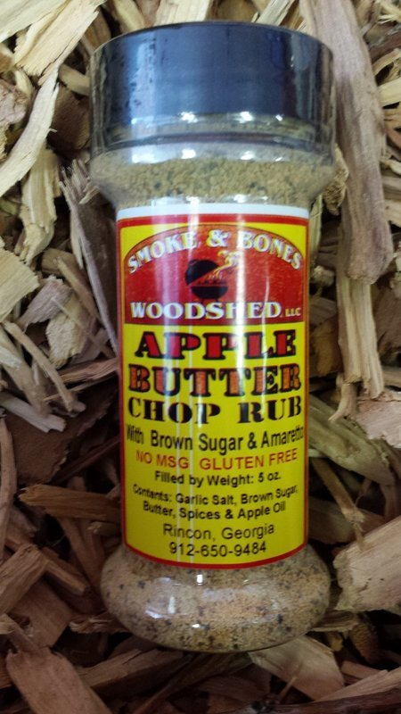 SBW, Apple Butter Chop Rub 5oz